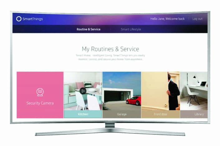 Internet of Things på Samsung 2016 modeller