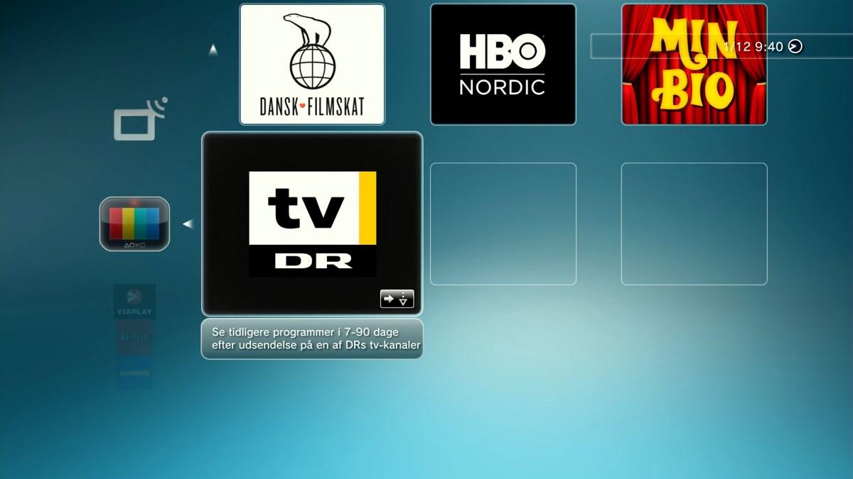 DR TV PlayStation