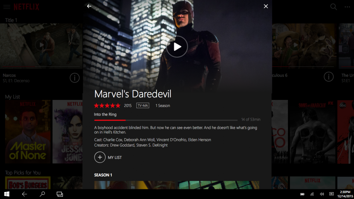 Netflix på Windows 10