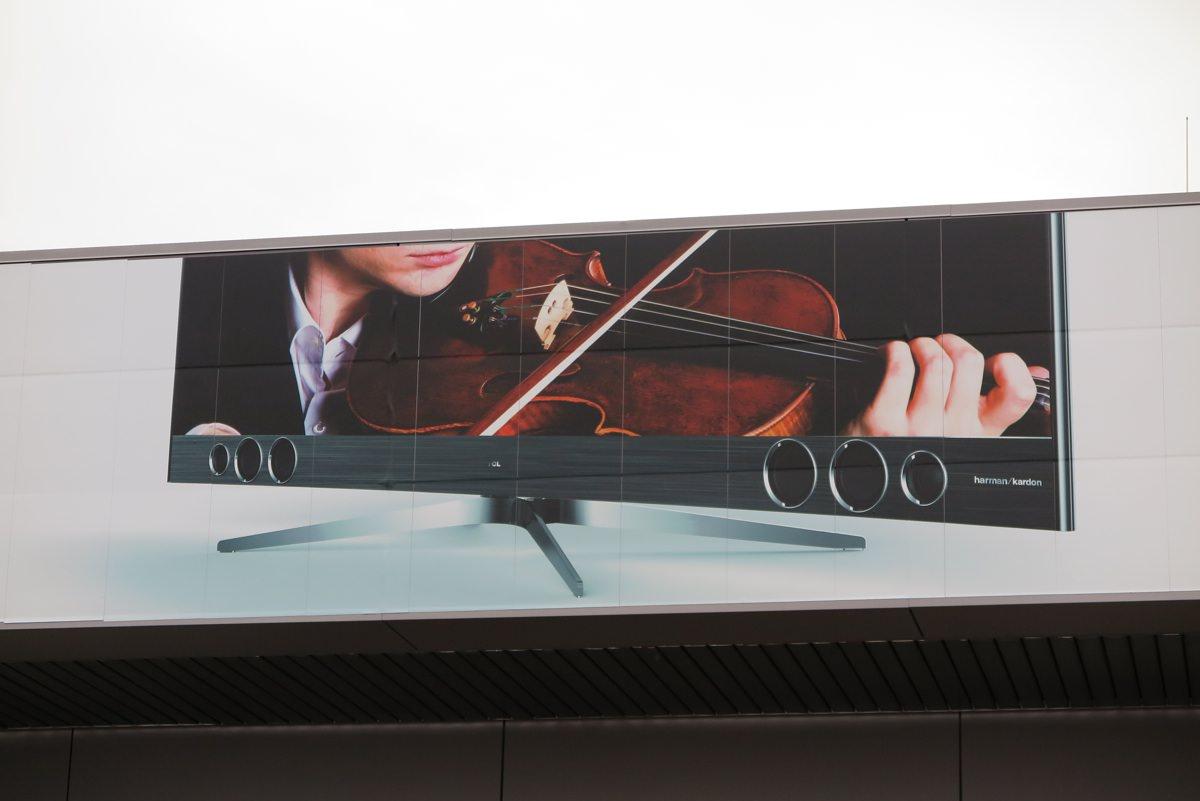 Harman Kardon leverer fyldig lyd til TCL-fladskærmen
