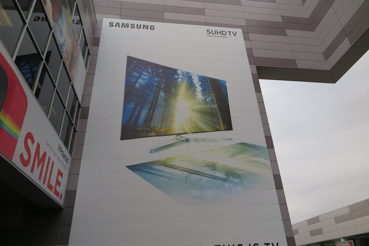 Samsungs nye 2016 TV-design