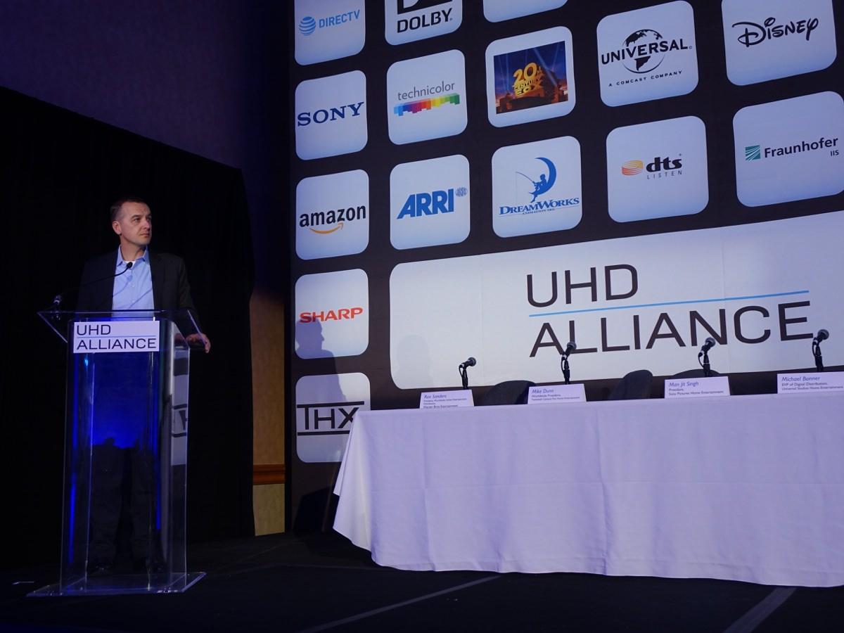 Præsentationen af Ultra HD Premium. Foto: recordere.dk
