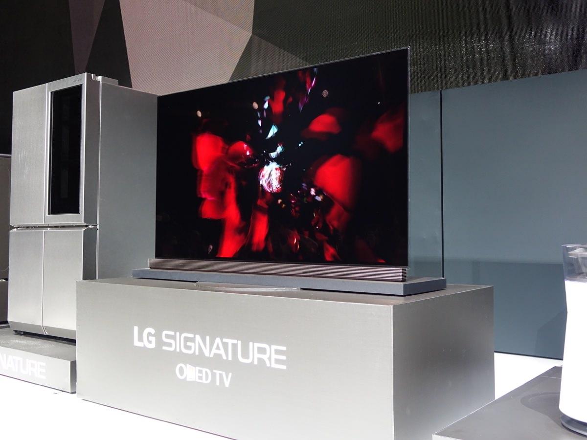 LG Signature OLED TV. Foto: recordere.dk
