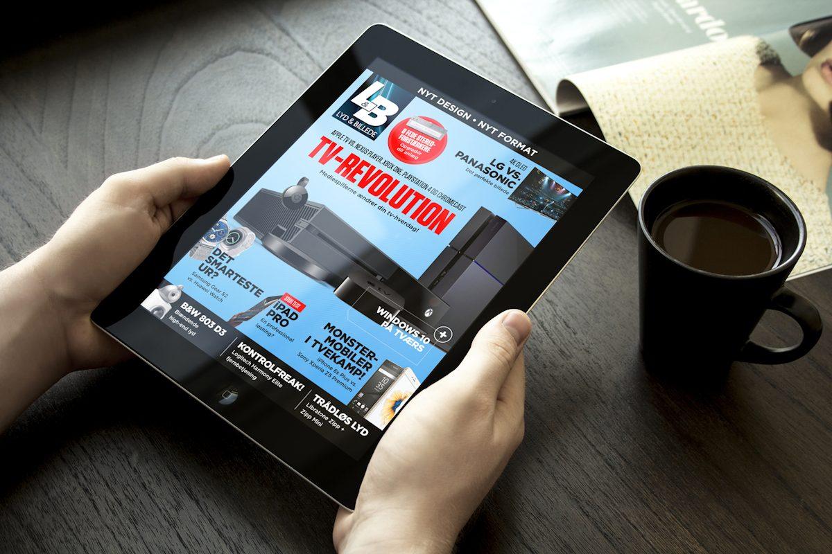 Lyd & Billede er nu gratis på iPad og Android. Foto: recordere.dk