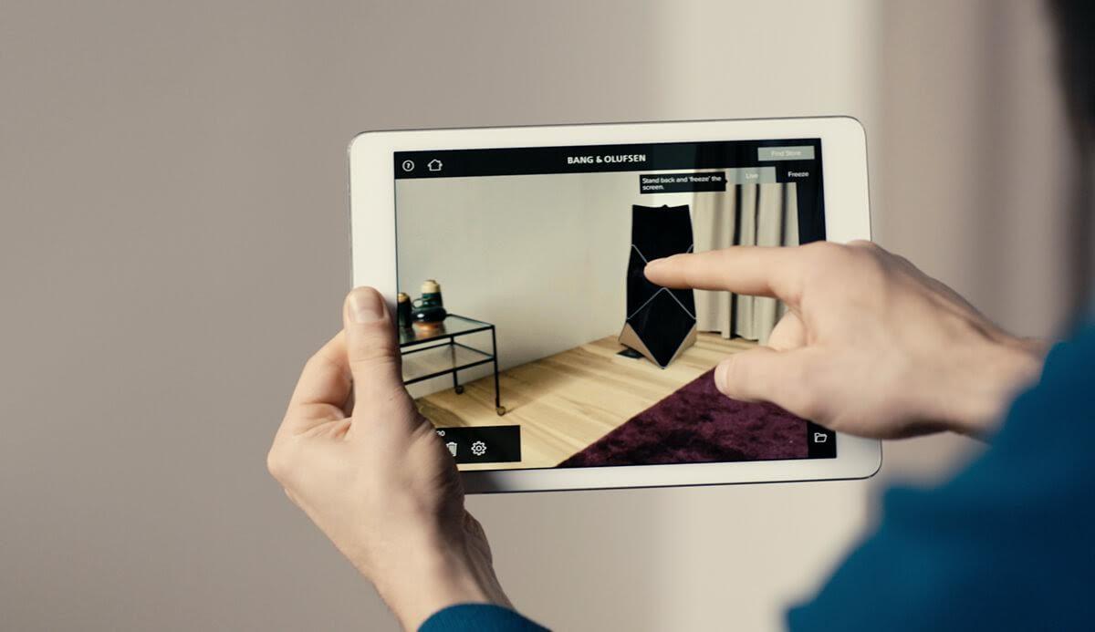 bang olufsen er klar med beohome design app hvor du kan indrette