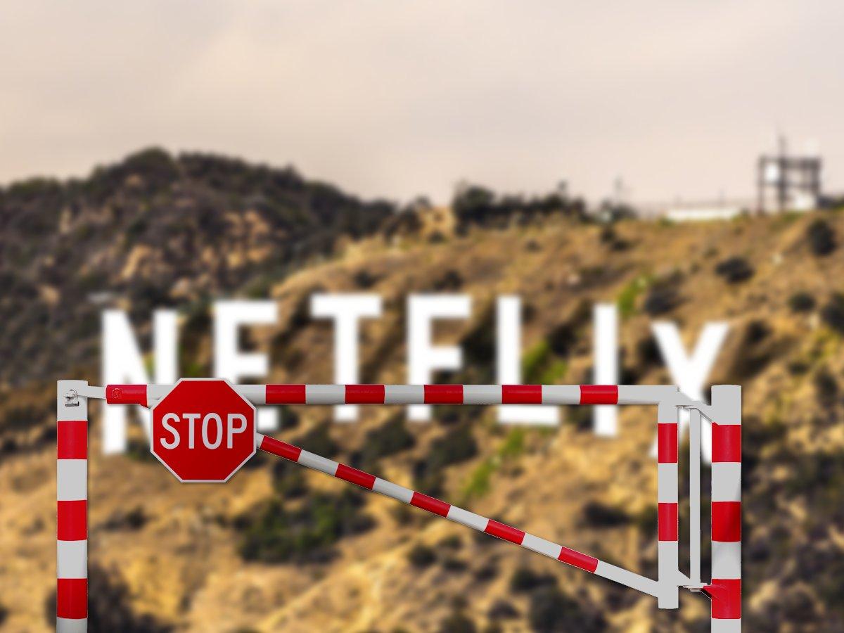 Netflix må gerne have grænsebomme om indholdet for EU (Foto: Shutterstock.com/recordere.dk)