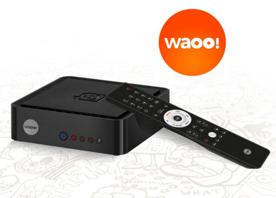 Waoo! 4K/UHD TV-boks.