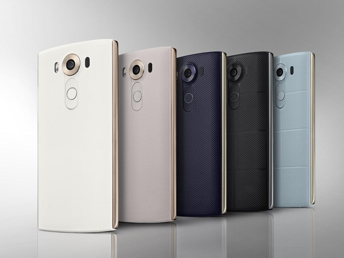 LG V10 smartphone (foto: LG)