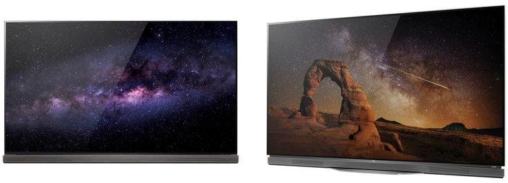 LG OLED TV G6-serie og E6-serie