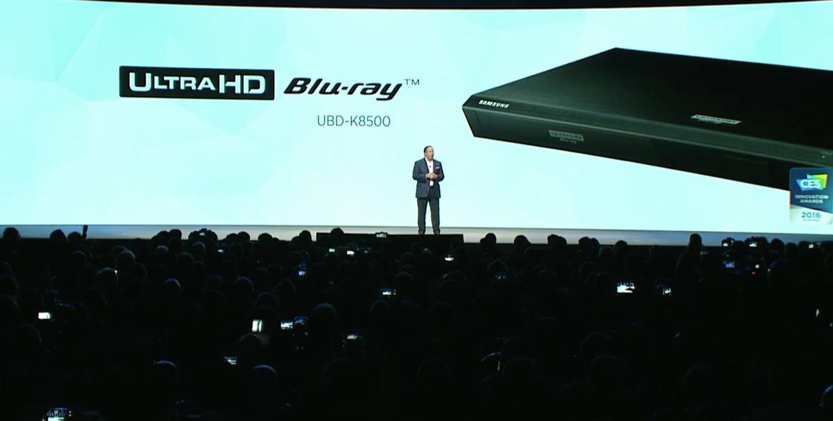 Samsung UHD Blu-ray afspiller