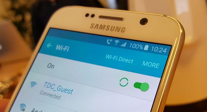 Mobilsamtaler over WiFi. Foto: TDC
