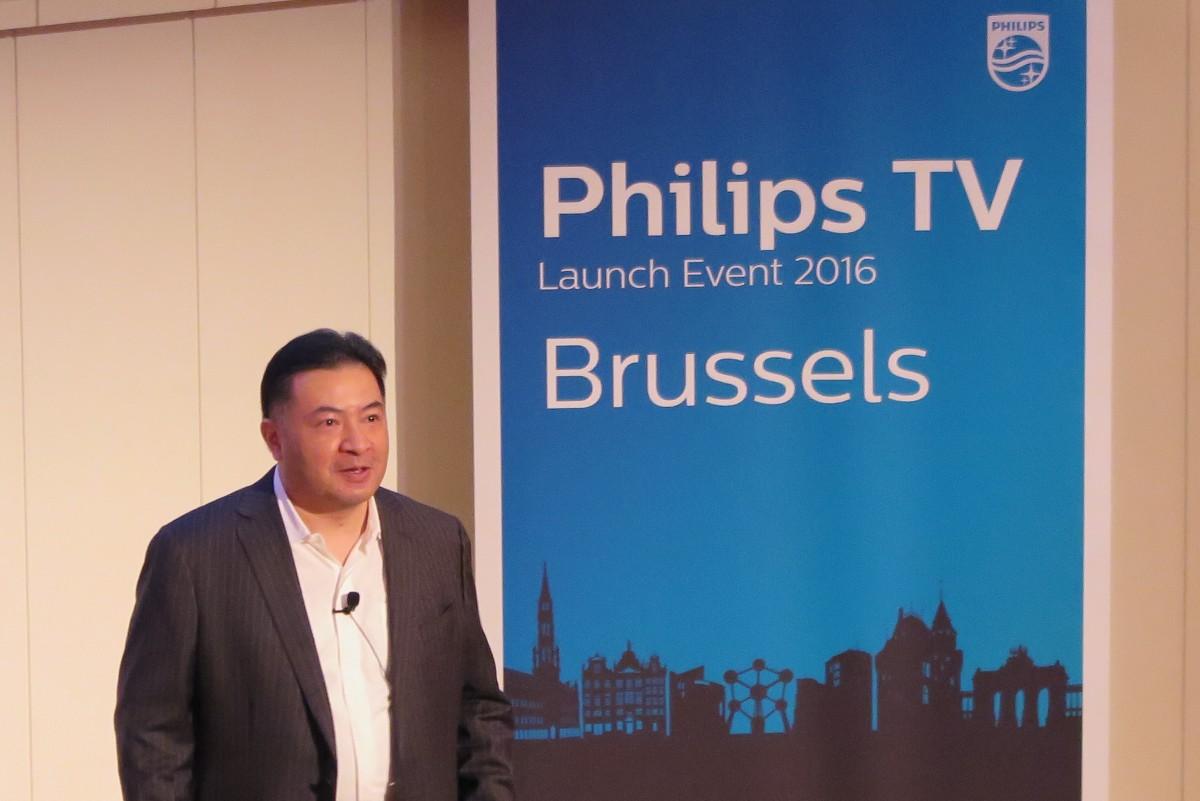 David Kou, General Manager af TP Vision. Foto: recordere.dk