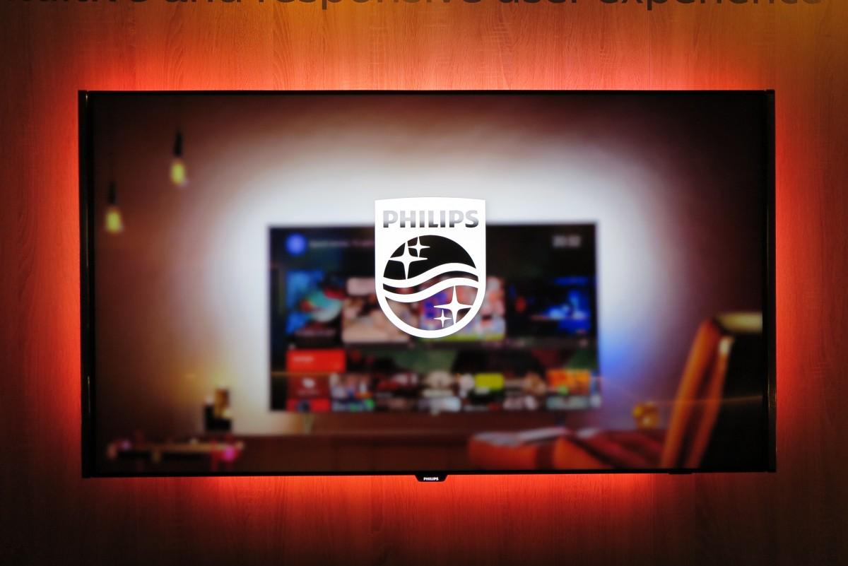 Dette er IKKE Philips OLED TV. Foto: recordere.dk