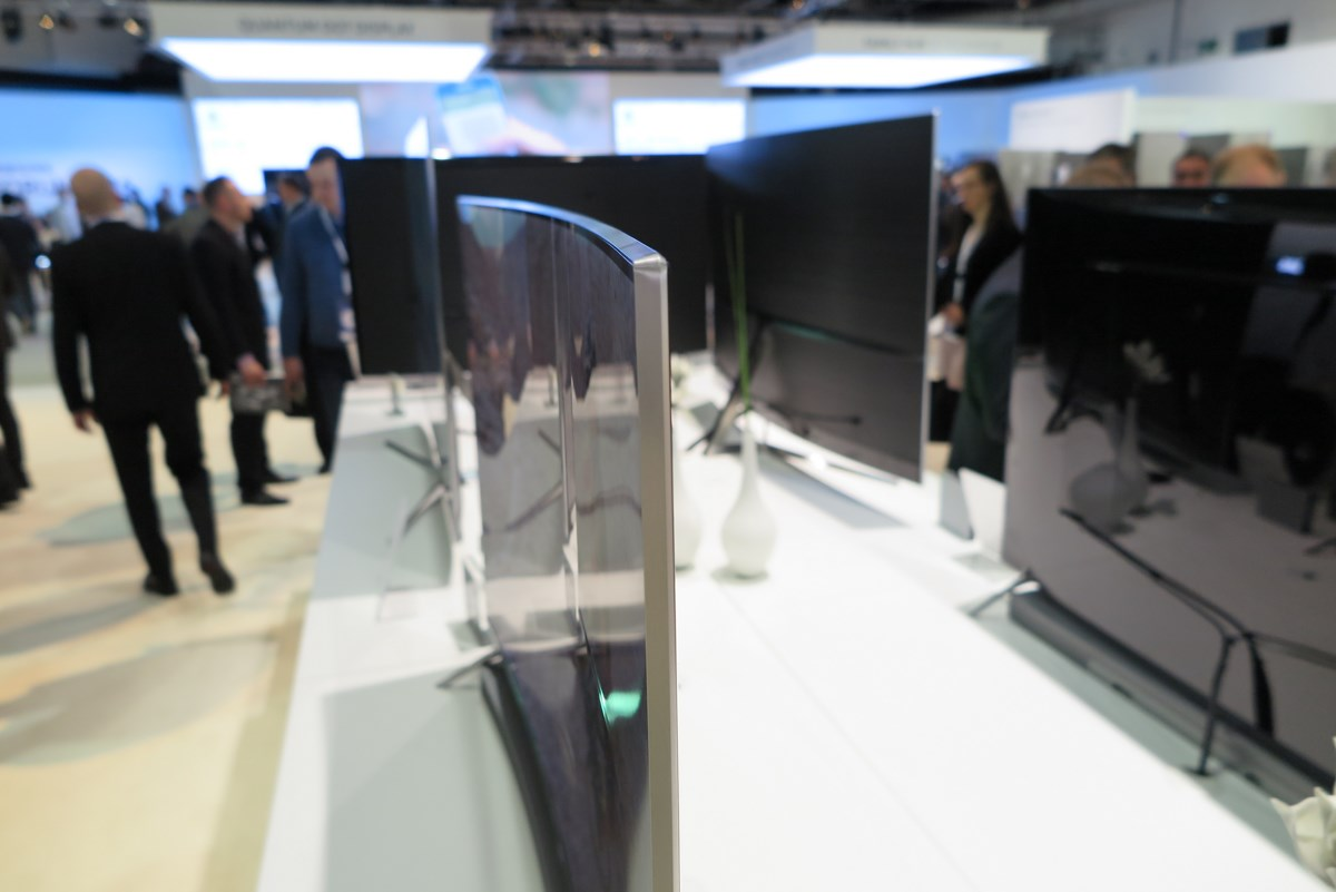 Samsung TV buet curved
