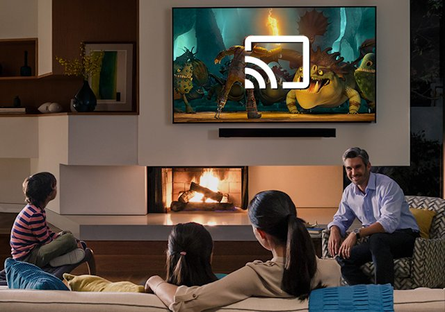 """TV-mærket Vizio er første ikke-Android TV med """"Chromecast"""". Foto: Vizio / recordere.dk"""