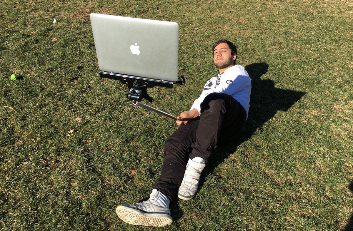 Macbook Selfiestick