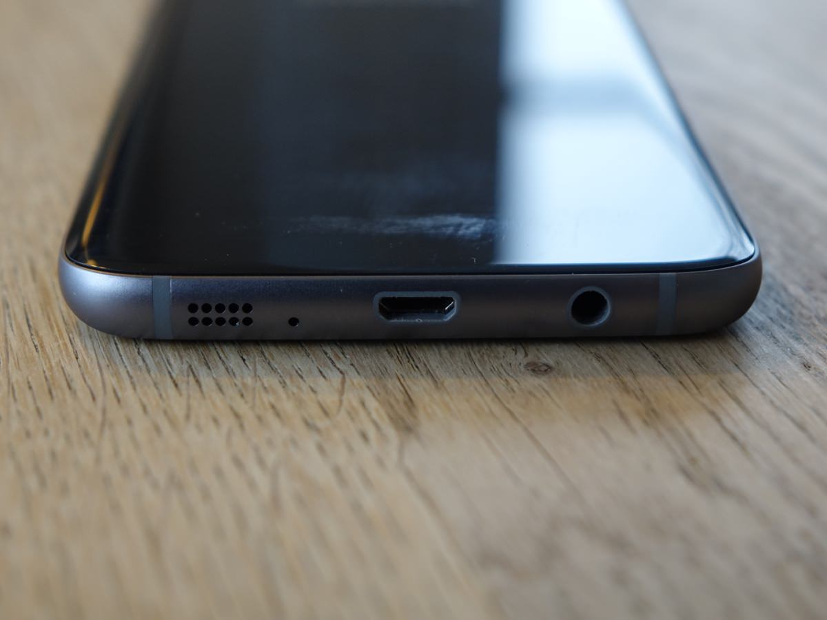 Bunden af Samsung Galaxy S7 Edge (foto: recordere.dk)
