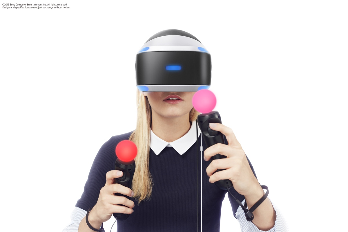 Sony VR briller (illustration: Sony)