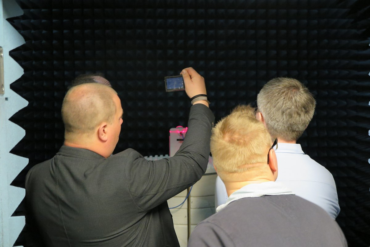Samsung SEQAL Euro QA lab. Foto: recordere.dk