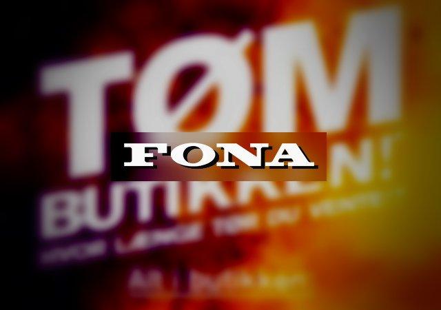Tøm en Fona