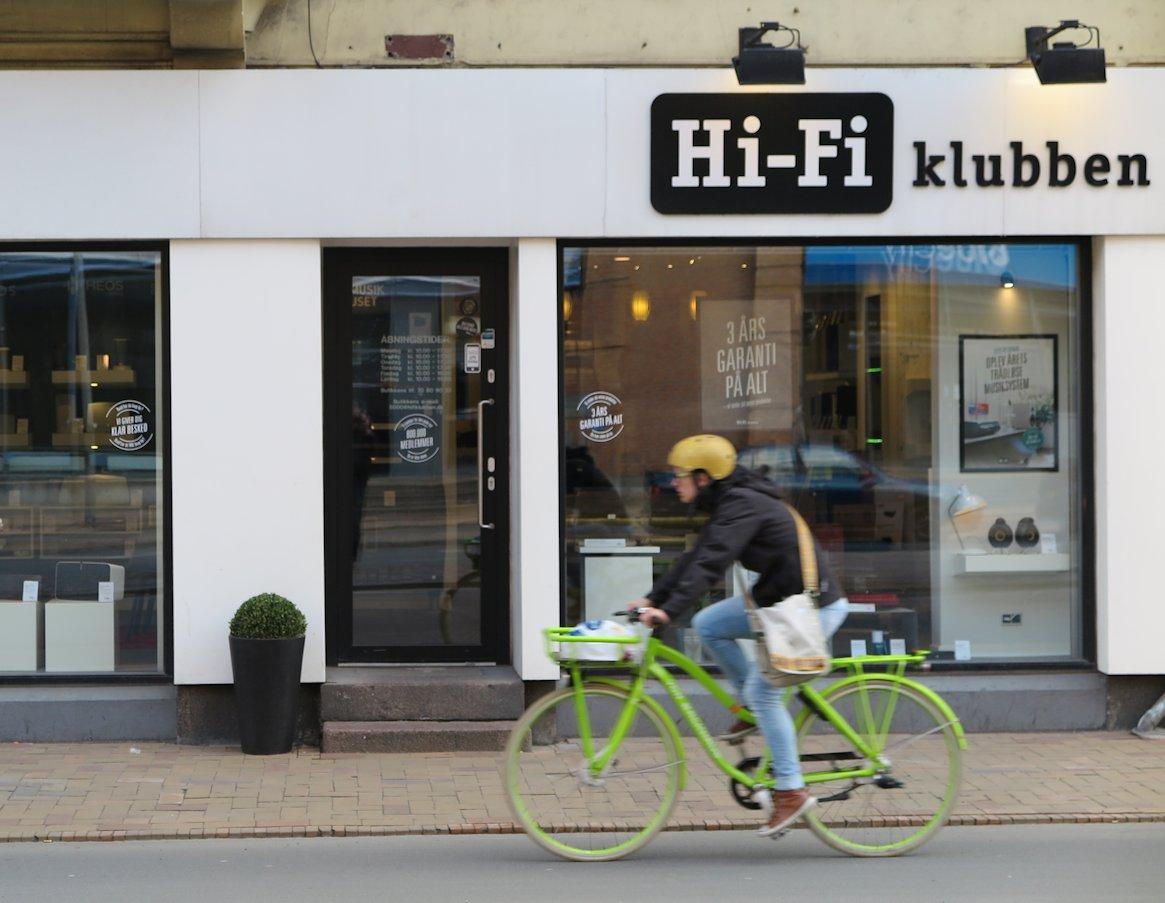 Hi-Fi Klubben. Foto: recordere.dk