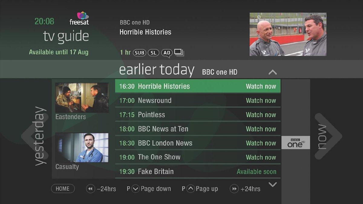 Sådan kan HbbTV også se ud. Foto: HbbTV.org