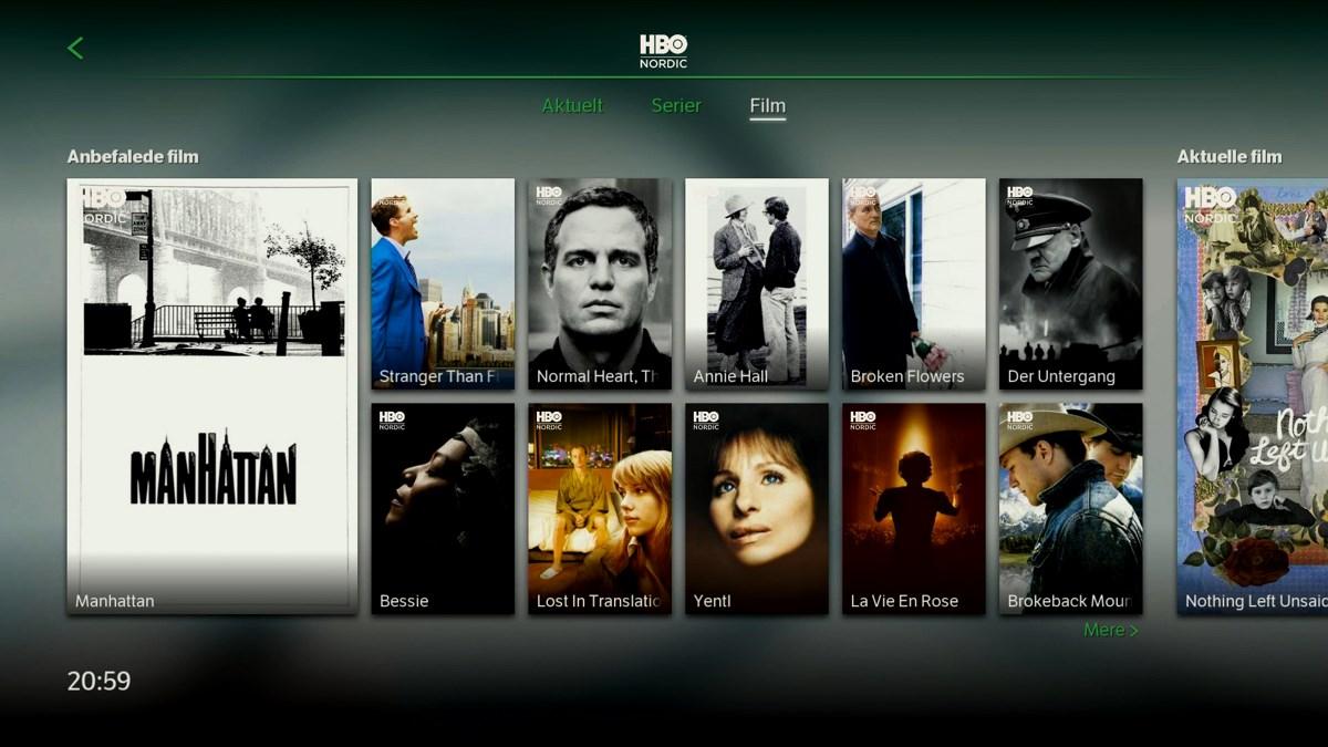 HBO Nordic film. Foto: recordere.dk