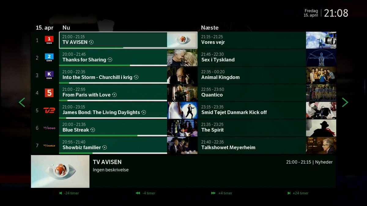 TV-guiden. Foto: recordere.dk