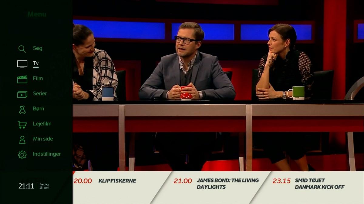 Menuen. Foto: recordere.dk