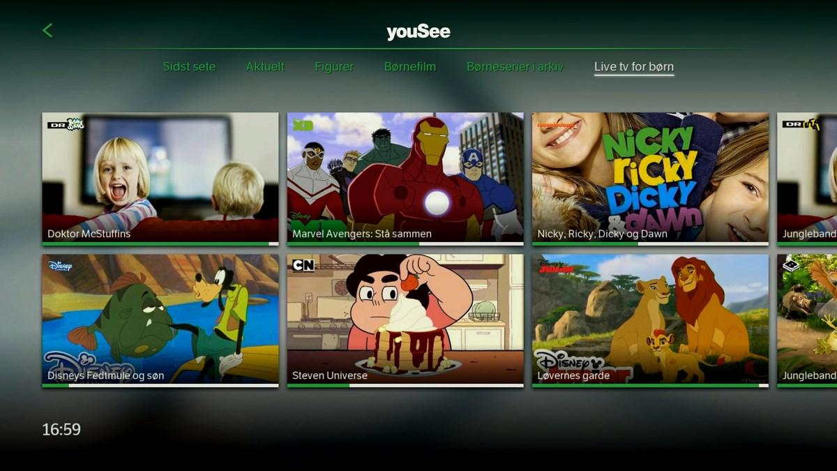 TV for børn. Foto: recordere.dk