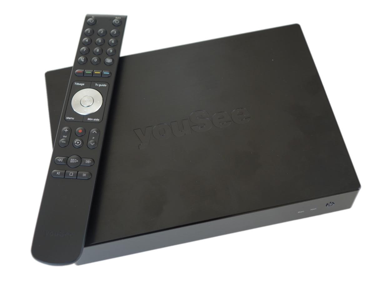 YouSee Boks - Med remote
