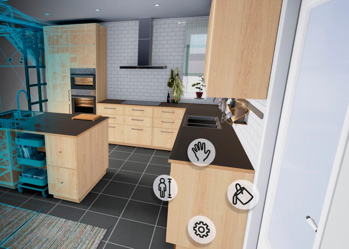 Picture of: Ga Rundt I Dit Nye Ikea Kokken I Virtual Reality Recordere Dk