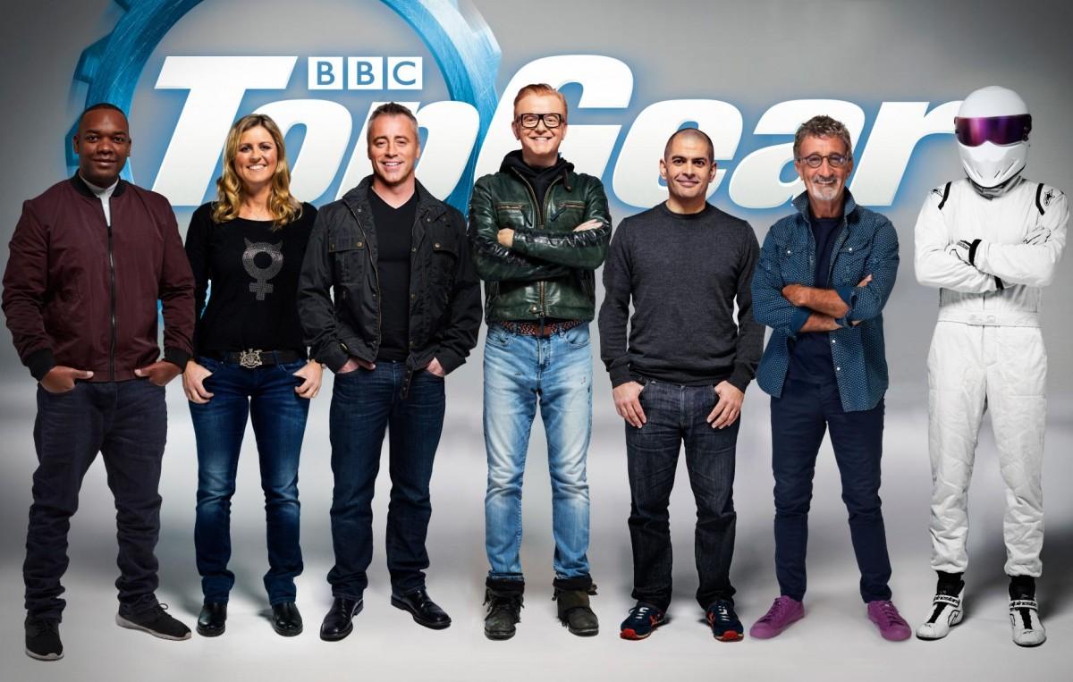 De nye værter til Top Gear på BBC (Foto: BBC)