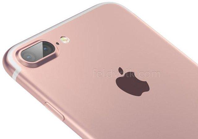 Sådan kan iPhone 7 se ud. Rendering af Feld & Volk (www.feldvolk.com)