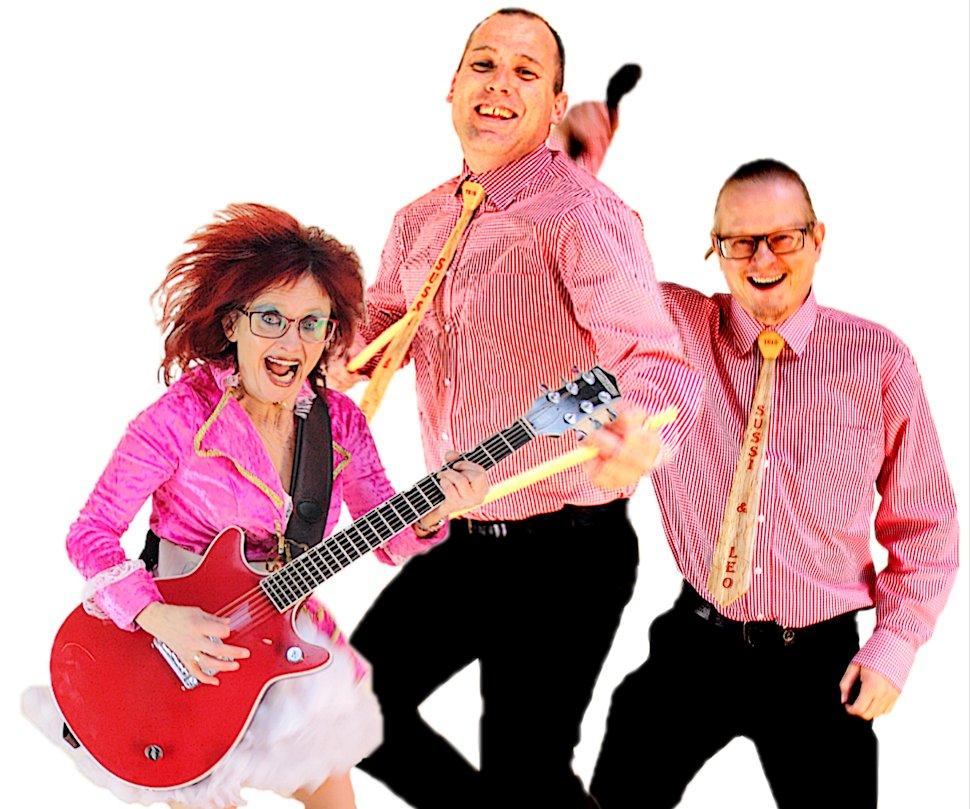Fra venstre: Sussi, Thomas Ehrenreich og Leo. Foto: Sussi og Leo