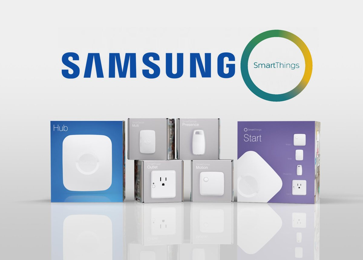 Samsung SmartThings komponenter til det intelligente hjem