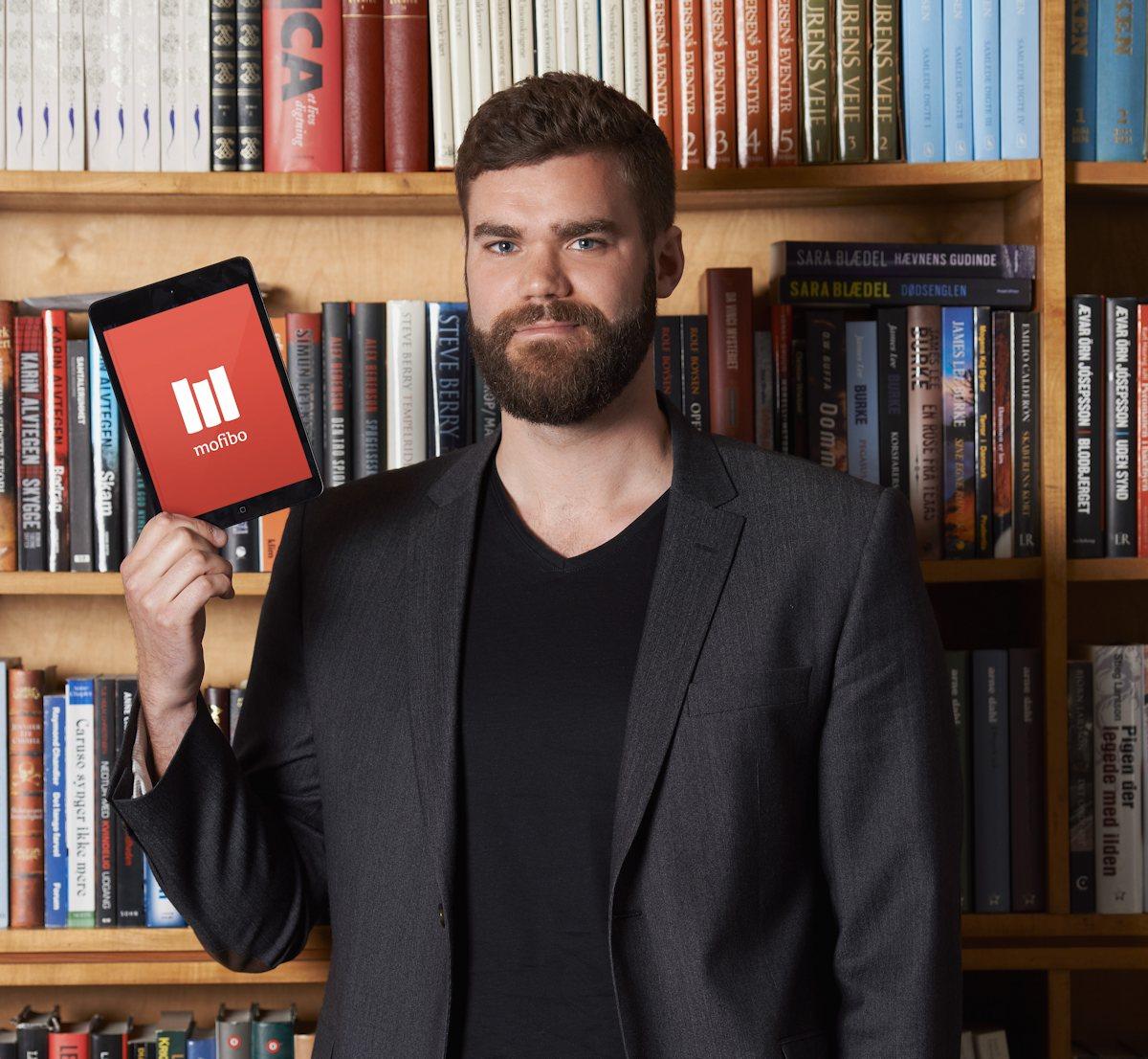 Morten Strunge, stifter af Mofibo. Foto: Mofibo