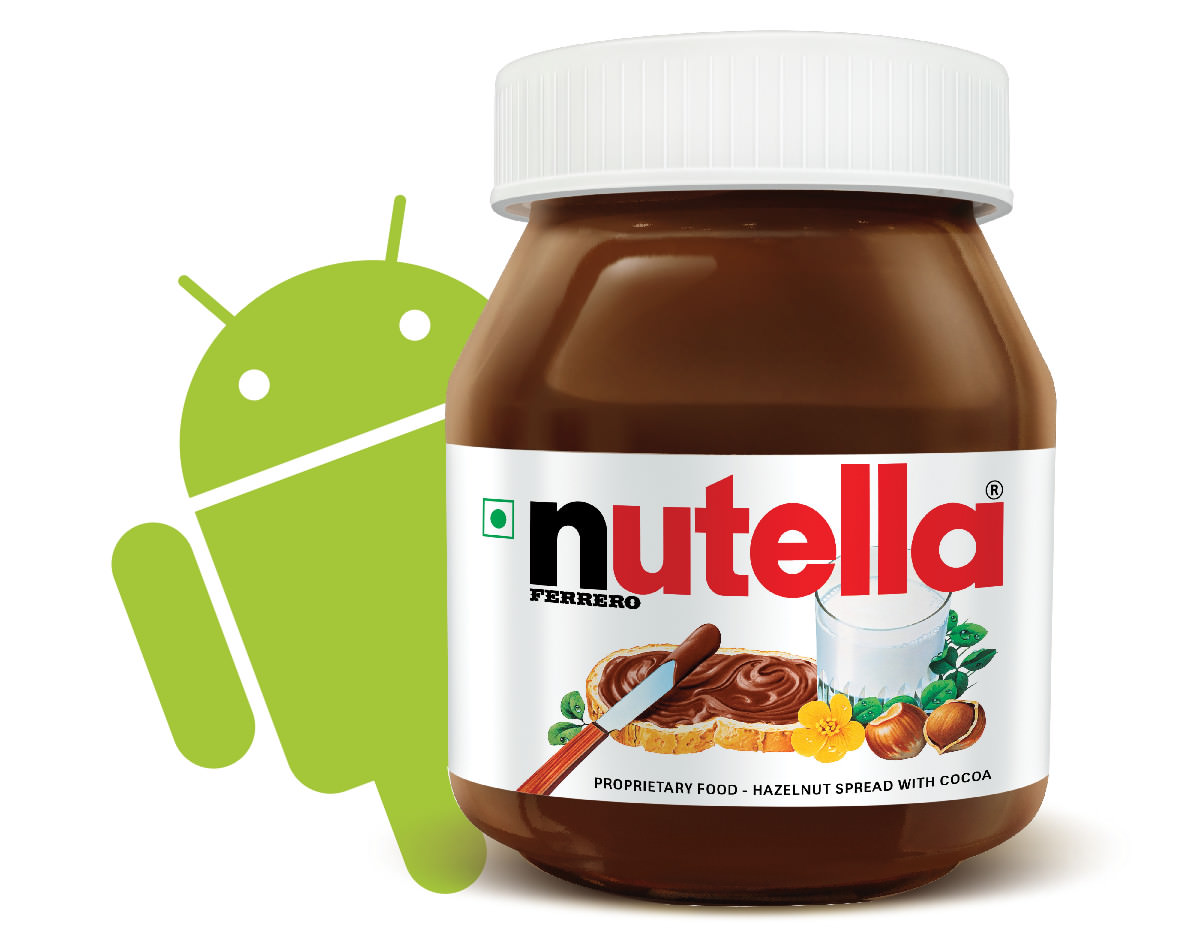 Android Nutella (ill. recordere.dk)