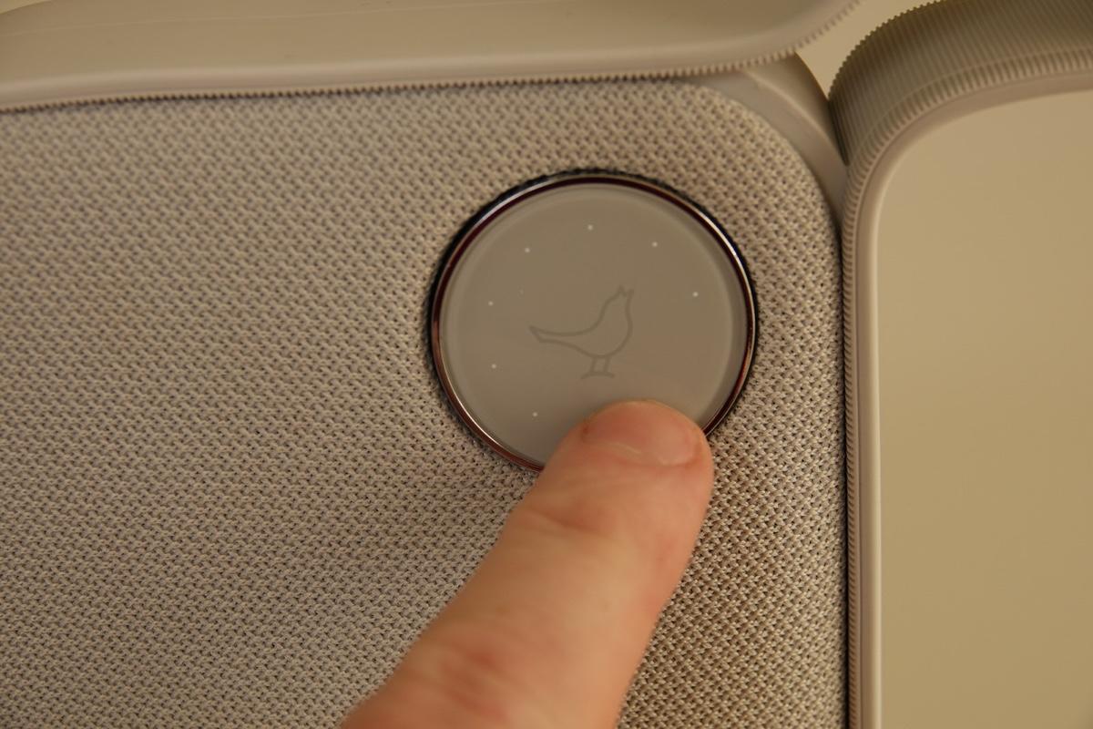 Libratone ONE - Volume knap (foto: recordere.dk)