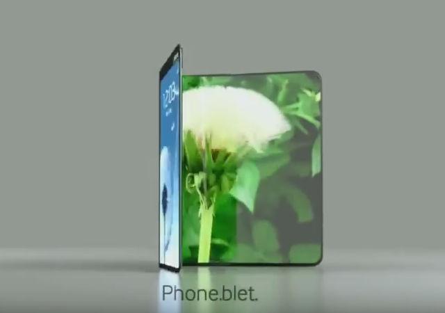 Foldbar OLED