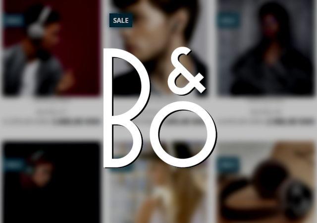 B&O Bang & Olufsen udsalg sale stock logo thumbnail