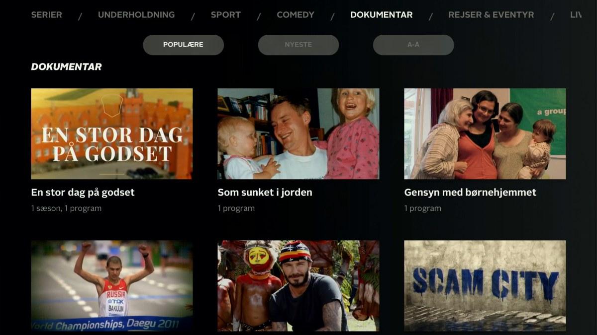 Screenshot: recordere.dk