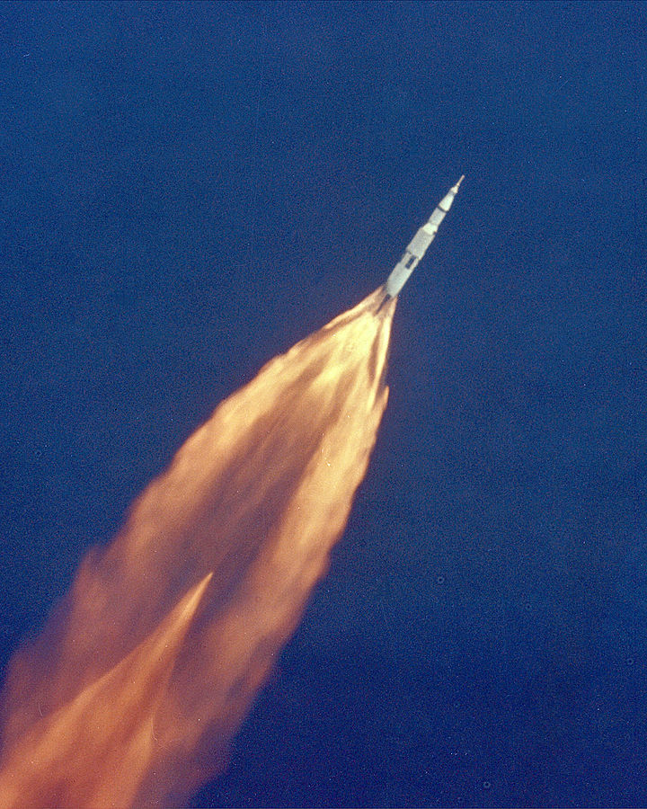 Apollo 11 launch. Foto: NASA