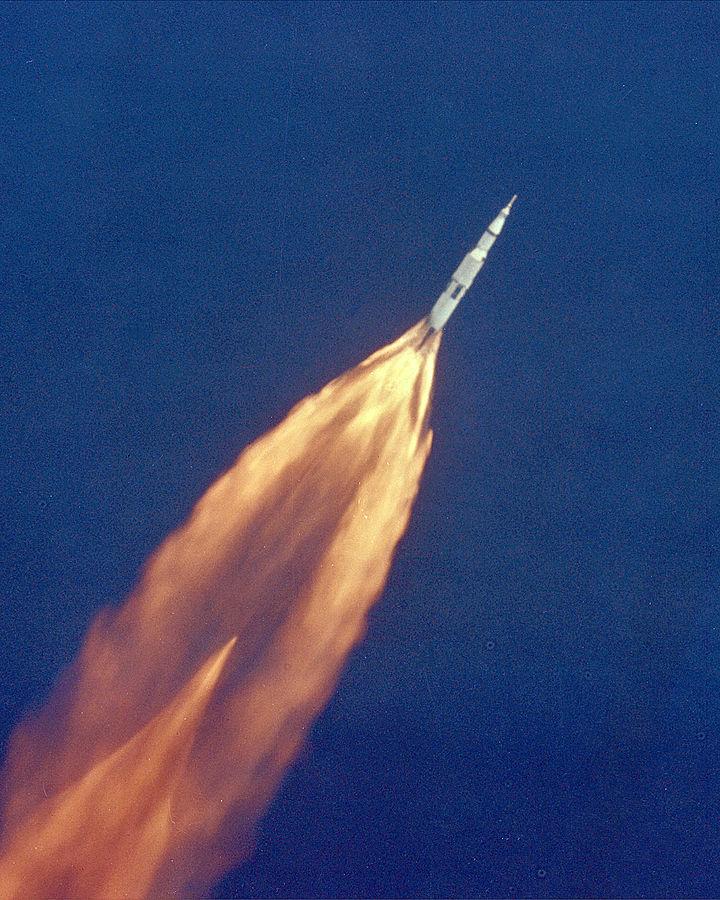 Apollo 11 launch. Foto: NASA