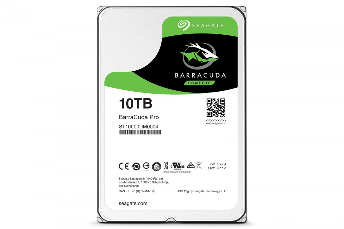 Seagate Barracuda 10TB