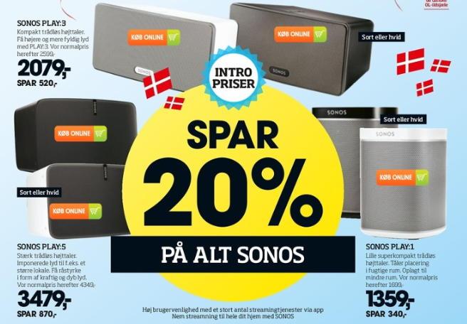 Slowjuicer Tilbud Bilka : Sonos med 20% rabat i Bilka (udsolgt) - recordere.dk
