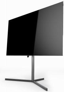 Loewe Bild 7 OLED TV. Højttaler skjult.