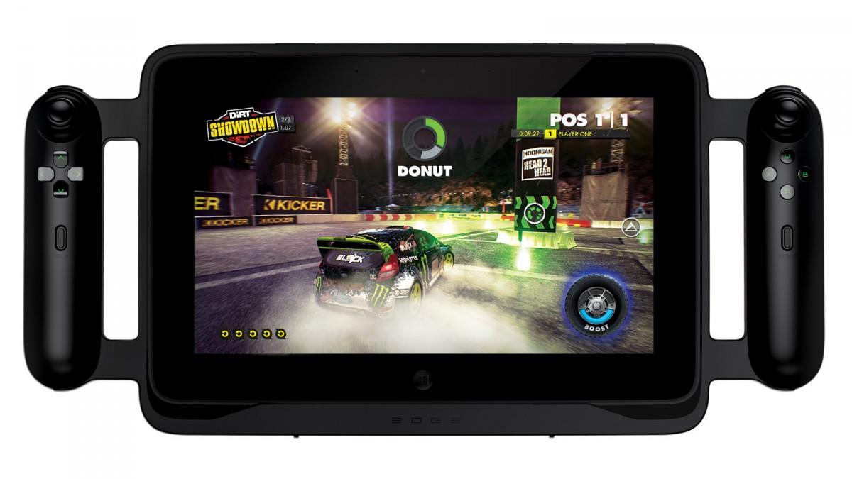 Dette er ikke Nintendos NX, men derimod spiltablet'en Razer Edge. Meget tyder dog på, at Nintendos næste spilkonsol kommer til at ligne.