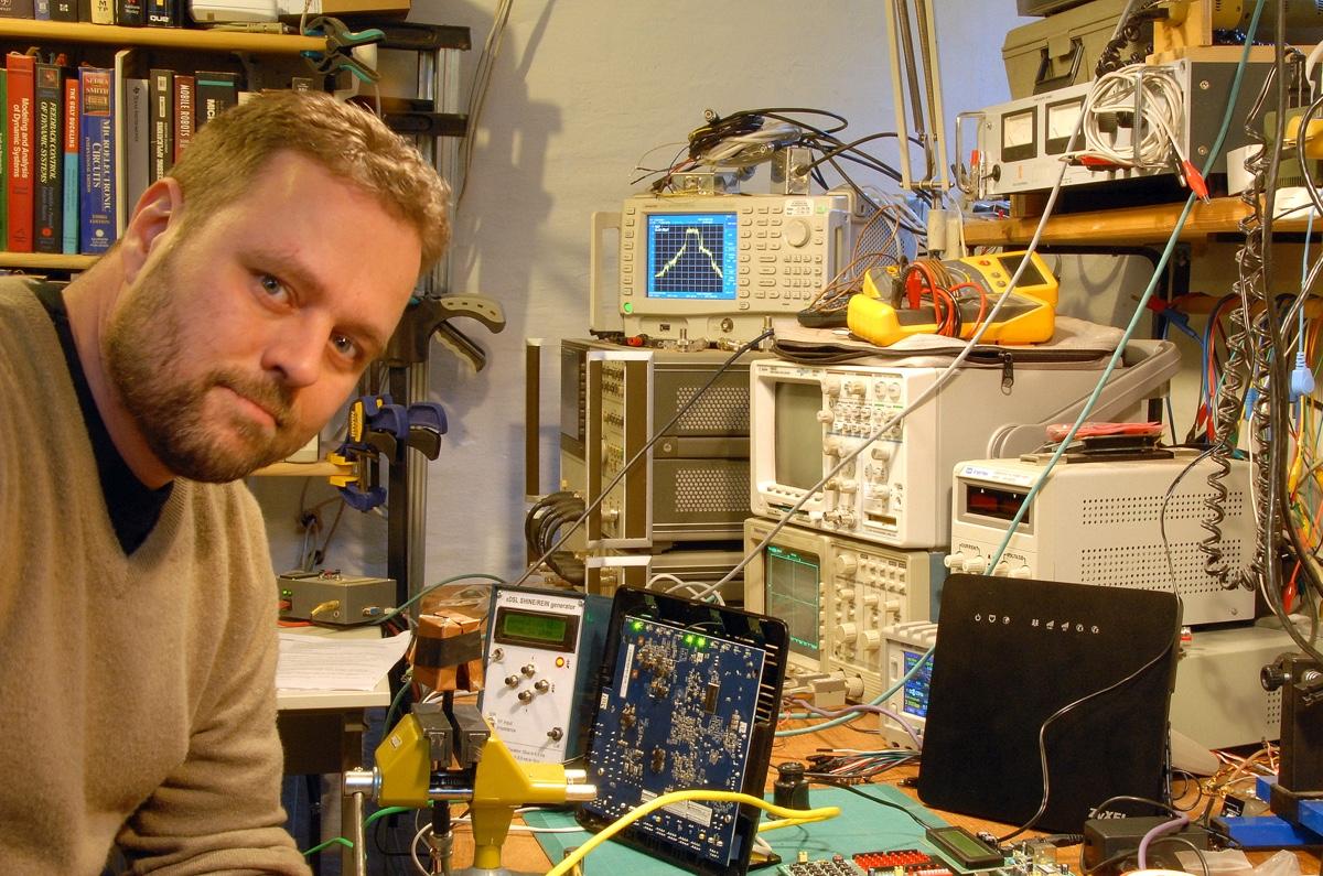 Steen Garbers Enevoldsen fra Nørd'o'teket (foto: Nørd'o'teket).