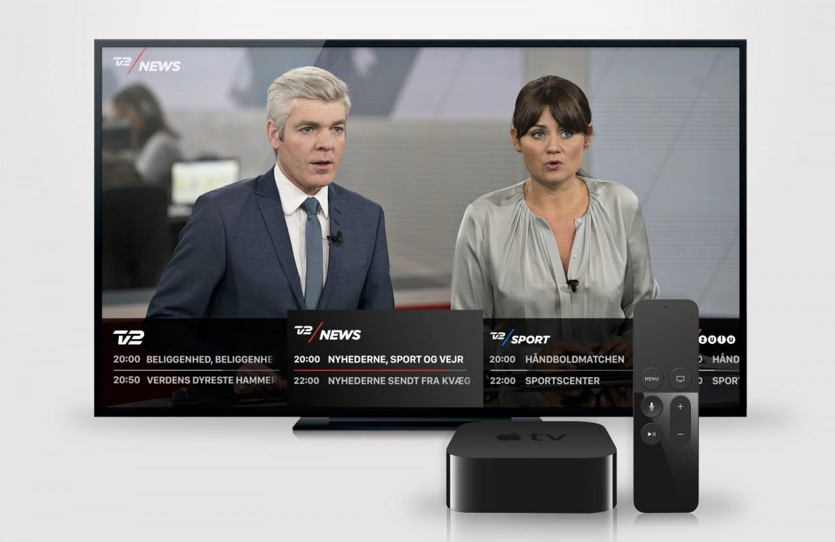 TV 2 PLAY på Apple TV (foto: TV2 Danmark)